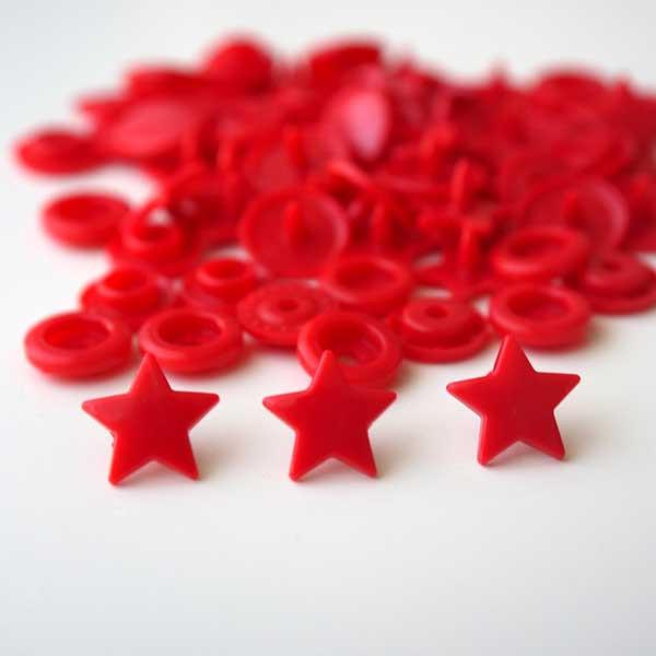 Pressions  étoiles rouge