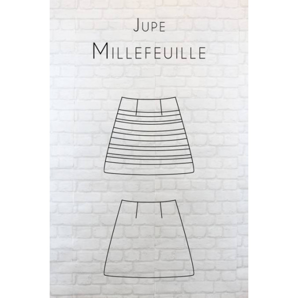 Patron jupe Millefeuille
