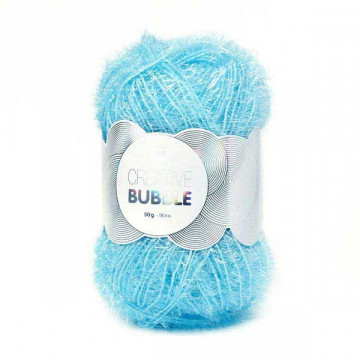 Creative bubble bleu clair 007