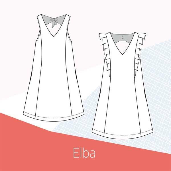 Patron robe Elba