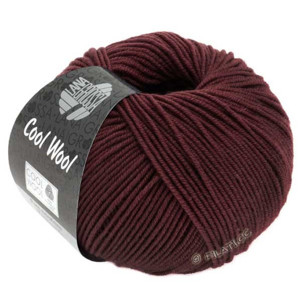 Cool wool melange bordeaux 2041