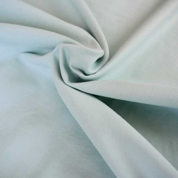 Tissu chambray diabolo menthe