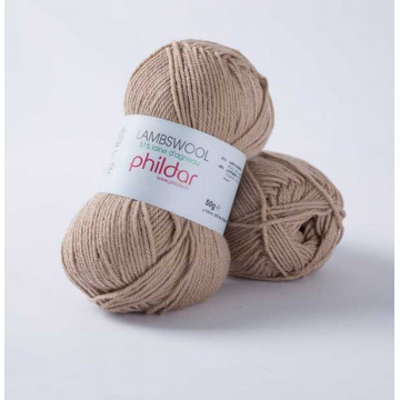 Lambswool chanvre