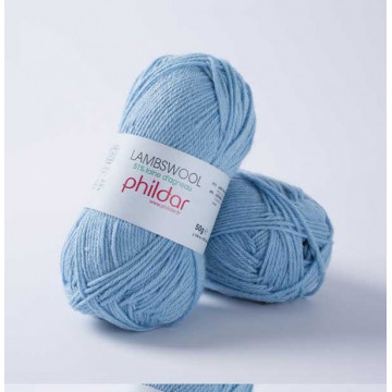 Lambswool porcelaine
