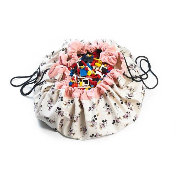 Sac à jouets Minnie gold
