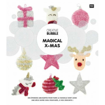 Livre Magic Xmas Creative Bubble
