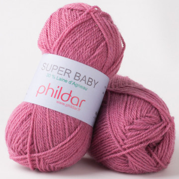 Super Baby Lie de vin-Phildar