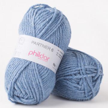 Partner 6 Jeans chine-Phildar