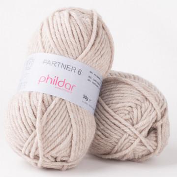 Partner 6 Naturel chine-Phildar