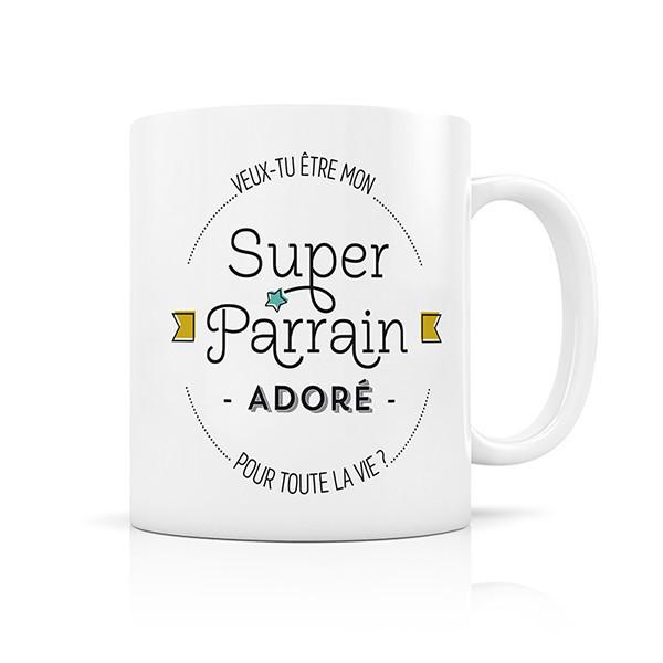 Mug Super Parrain adoré